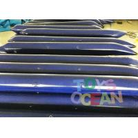 Customized Bule Inflatable Tube Inflatable Floating Water Game For lake Manufactures