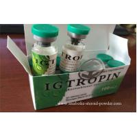 Injectable HGH Anabolic Steroid Powder Human Growth Hormone IGF / Igtropin , IGF-1 Manufactures