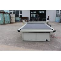 China Smooth Accurate Carpet Making Machine Control Numeric Flatbed Plotter Cutter on sale