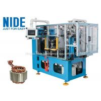 4 Stations Electric Motor Stator Wire Lace Machine / Blue Coil Lacer Machine Manufactures