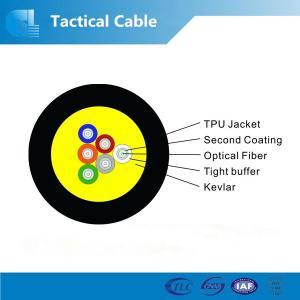 China Kevlar armored tactical fiber optic cable manufacturer on sale