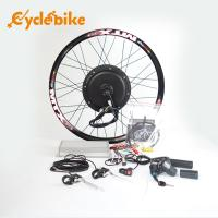 72v 3000w Electric Bicycle 700c Hub Motor Wheel Kit With Sine Wave Controller Manufactures