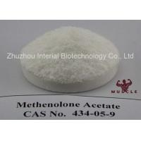 Raw Lean Muscle Methenolone Enanthate Steroids Hormone Powder Methenolone Acetate CAS 434-05-9 Manufactures