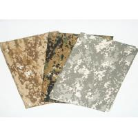 Camouflage Print Fabric Fire Retardant Antistatic For Military Uniform Manufactures