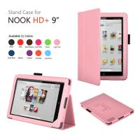 China Folio PU 9 Inch Barnes & Noble Nook Tablet Cases And Covers With Built In Light on sale