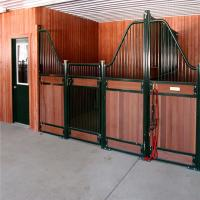 Buy cheap 10 Horse Stall Fronts Equine Barn Plans Products Feeding House Partitions from wholesalers