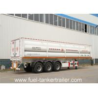 CNG Tube Trailer with additional gas - filling devices and continous heat treatment tube Manufactures
