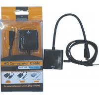 China 8 / 10 / 12 bit deep color  VGA AUDIO VIDEO Converter for  TV & Monitor on sale