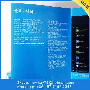 China New Original Microsoft Windows 10 Home 64bit Oem Dvd Activation Download on sale