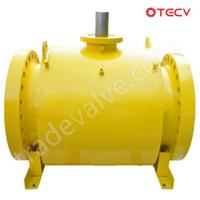 ASTM A105 Fully Welded Ball Valve, DN500, 600# TECV Manufactures