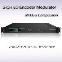 REM7204 Two-Channel SD-SDI TO ATSC MPEG-2 SD Encoding Modulator Manufactures