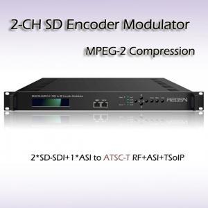 REM7204 Two-Channel SD-SDI TO ATSC MPEG-2 SD Encoding Modulator Manufactures