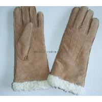 Fashion Pig Suede Gloves with Artificial Wool (55M044) Manufactures