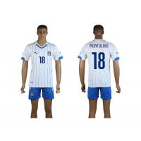 Wholesale Newly hotest italy national team away kit 2014 World Cup Spain soccer jersey set
