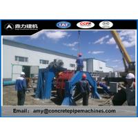 China Roller Suspension Cement Pipe Making Machine DN200 - 2800 Diameter on sale
