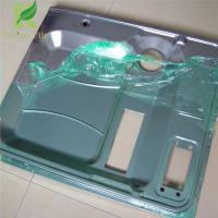 0.03-0.22mm Green Easy to Peel Temporary surface protective film for stainless steel Manufactures