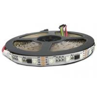 China 5V / 12V Dimmable RGB LED Strip Lights , WS2818 IC Commercial Outdoor LED Rope Lights  on sale