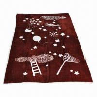 Panel Printed Coral Fleece Blanket, Measures 120 x 180cm, Weighs 260gsm Manufactures
