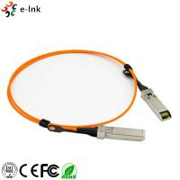 Active Optical Cable Fiber Optic Transceiver Module OM2 Cable Length 1m 10G SFP+ To SFP+ Manufactures