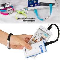 New Stylish Wristband USB Data Sync Charging Cable For iPhone, Android Manufactures