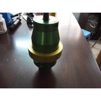 Welding Ultrasonic Converter Boosters , High Frequency Ultrasonic Transducer Manufactures