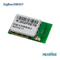 China Ultra-compact  low-power 2.4 GhZ IEEE 802.15.4  Standard ZigBee SMD Module REX3S green on sale