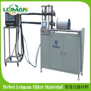 China Heavy car air filters making machine PLWS-950 HDAF horizontal gluing machine on sale