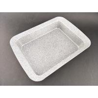 Non-stick grey Marble Coating Square Cake Pan for bakeware Manufactures