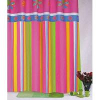 Flower 100% Polyester Shower Curtain Manufactures