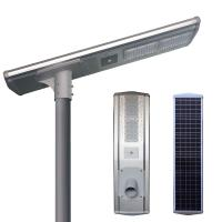 High Lumen All In One Integrated Solar Street Light Time Control Working Mode 40W Manufactures