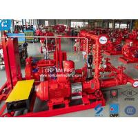 UL / NFPA20 500GPM Skid Mounted Fire Pump With Centrifugal End Suction Fire Pump Sets Manufactures