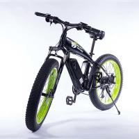 China Green Wide Tire Snow Beach Cruiser Electric Bike 26 Inch Wear Resistant on sale