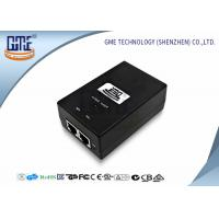Desktop Power Over Ethernet Adaptor 15V 0.8A Carrier POE Adapter Manufactures
