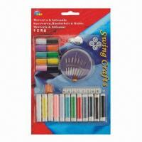 Sewing kit, thraed colors are available, used for traveling, homes and hotels Manufactures
