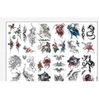 8.5 X 11 Temporary Tattoo Decal Paper Water Transfer Type For Body OEM Manufactures
