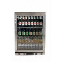 850mm Height 128L Stainless Steel Back Bar Cooler External Digital Temperature Display Manufactures