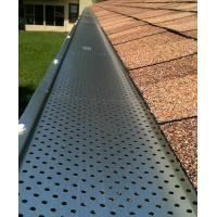 Perforated Metal Leaf Guards Keep Your Gutters Clean Manufactures