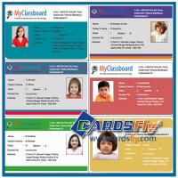 China plastic id cards printing on sale