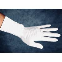 China Odorless Nitrile Medical Examination Gloves Bacterial Penetration Resistance on sale