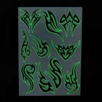 China Glow in the Dark Temporary Tattoo on sale