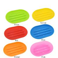 100% Food Grade  Silicone Household Colorful Shape Custom Soft Silicone Soap Box Manufactures