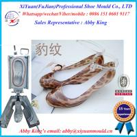 Transparent and comforatable Injection indoor PVC no air blown lady crystal shoe moulds Manufactures