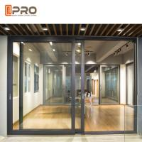 China Sound Proof Aluminium Sliding Glass Doors For Residential And Commercial on sale