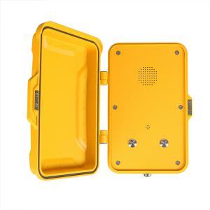 China Railway Outdoor IP67 Industrial Weatherproof Telephone Wall / Pillar Mounted on sale