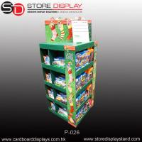 Custom PDQ stationery Pallet display stand with four sides Manufactures