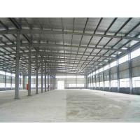 China Prefabricated Steel Structure Warehouse / Steel Prefab Buildings Contractors on sale