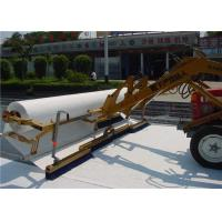Prevent crack polyester Non Woven Geotextile driveway fabric and road fabric Manufactures