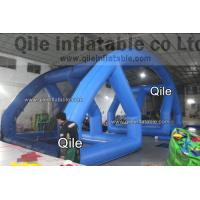 Crazy Summer Inflatable Water Wars Game Water Balloon Battle With CE / UL Blower Manufactures
