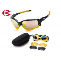 3 Interchangeable Lens Set TR90 Frame Sports Cycling Sunglasses Unbreakable Manufactures