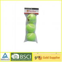 China Indoor Polyester Custom Tennis Balls , Official Colored Tennis Balls on sale